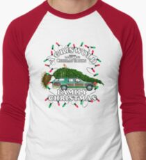 National Lampoon's - Christmas Tree Car Men's Baseball ¾ T-Shirt