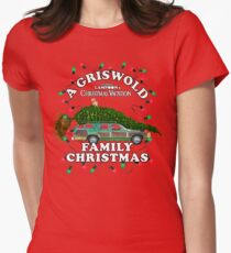 National Lampoon's - Christmas Tree Car Women's Fitted T-Shirt