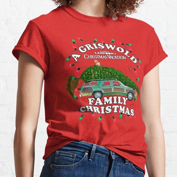 National Lampoon's - Christmas Tree Car Classic T-Shirt
