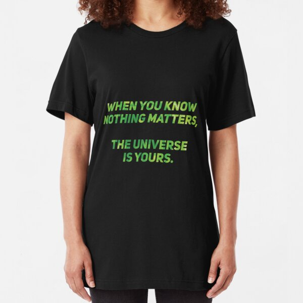 Rick and Morty Slim Fit T-Shirt