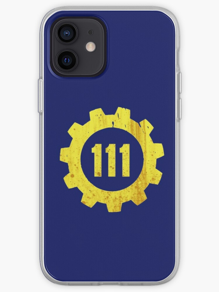 Fallout 4 111 vault   Coque iPhone