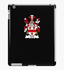 Toto Coat of Arms - Family Crest Shirt iPad Case/Skin