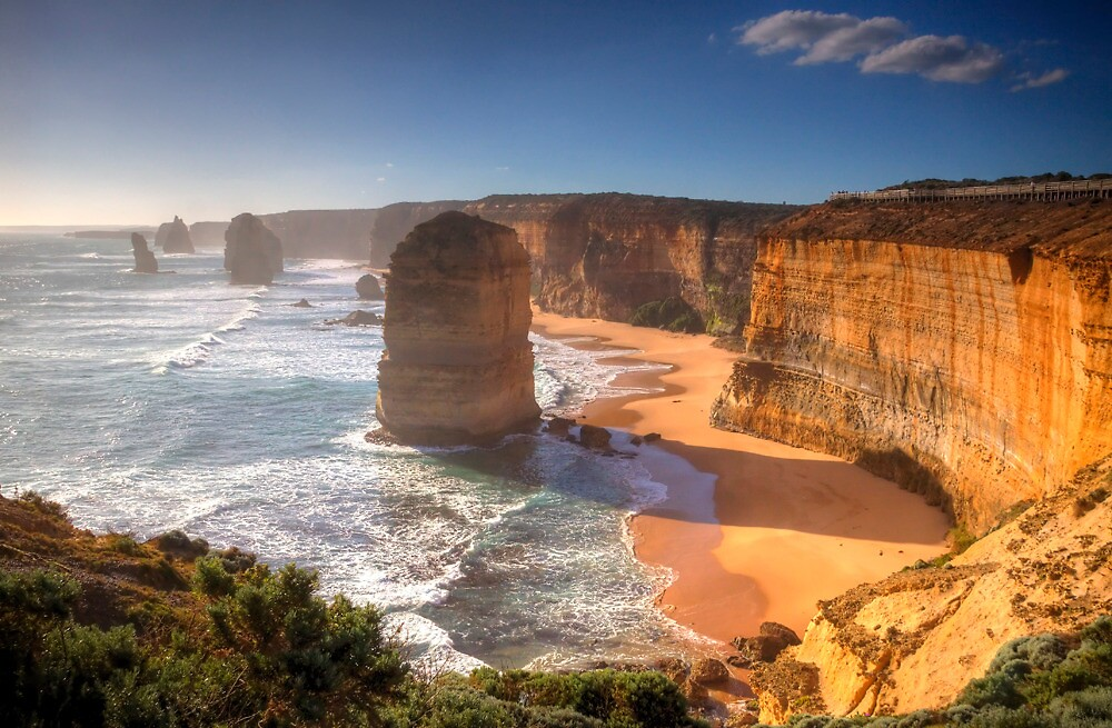 Twelve Apostles - Late Afternoon by Lynden
