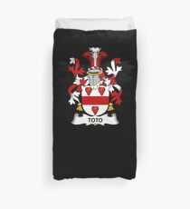 Toto Coat of Arms - Family Crest Shirt Duvet Cover