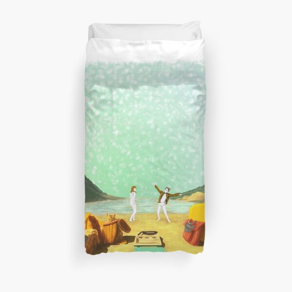 MOONRISE KINGDOM Painting Poster Duvet Cover