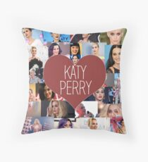 I love Katy Perry - Katy Perry Collage Throw Pillow