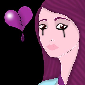Alone and heartbroken by stitchgrin
