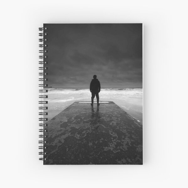 The jetty Spiral Notebook