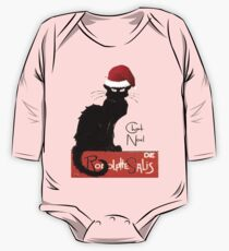 Le Chat Noel One Piece - Long Sleeve