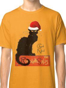 Le Chat Noel Classic T-Shirt