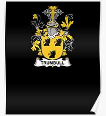 Trumbull Coat of Arms - Family Crest Shirt Poster