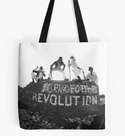 Clockwork Revolution Tote Bag