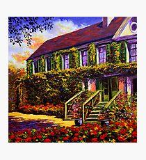 Vines on Claude Monet's House Photographic Print