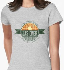 jj's diner - color Women's Fitted T-Shirt