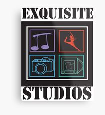 EXQUISITE STUDIOS Metal Print