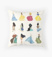 Princess Party Throw Pillow