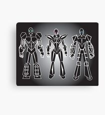 ROBOT CHARACTERS Canvas Print