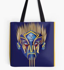 Masked Spiker Tote Bag
