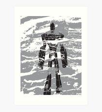 robot dust Art Print