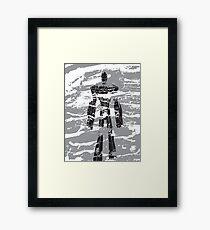 robot dust Framed Print