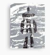 robot dust Metal Print