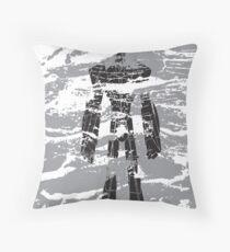 robot dust Throw Pillow