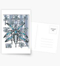 computer bugs Postcards