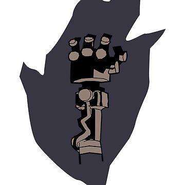 Right hand of doom by Returnerstudio