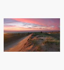 Sleeping Bear Dunes Sunset Photographic Print