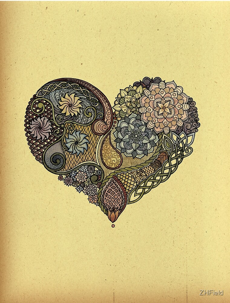 Tangled Heart by ZHField