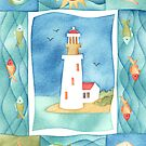 Seaside Lighthouse by challisandroos