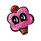 Pink Cupcake with a Cherry on Top!  by Shelly Still