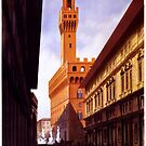 Vintage Firenze Retro Travel Advertisement Art Posters by jnniepce