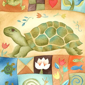 Turtle Garden by challisandroos