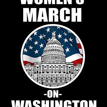 Women's Wave 2019 March On Washington DC T-Shirt by WearYourVoice