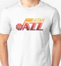 Utah Jazz Orange Unisex T-Shirt