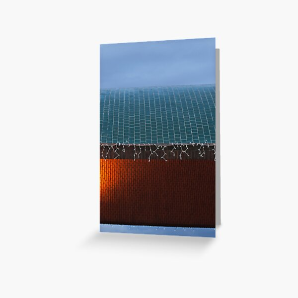 Light Texture Greeting Card