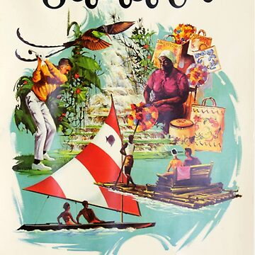 Vintage poster - Jamaica by mosfunky