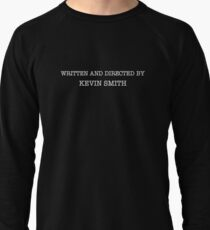 Clerks | Written and Directed by Kevin Smith Lightweight Sweatshirt