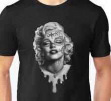 Marilyn Monroe Sugar Skull Unisex T-Shirt