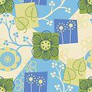 Dream Garden - Blue by challisandroos