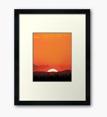 Adieu Framed Print