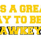 It's a Great Day to be a Hawkeye by lilbabylily