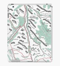 Loch Lomond - Coloured Tolkien Styled Map  iPad Case/Skin