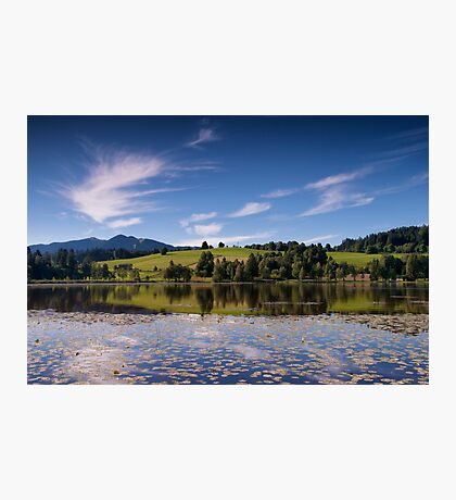 Early Morning Reflections, Bad Bayersoien Photographic Print
