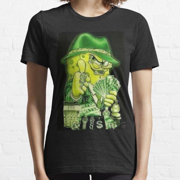 Cash Money Pimp Spongebob Essential T-Shirt