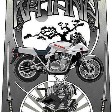 Suzuki Katana by limey57