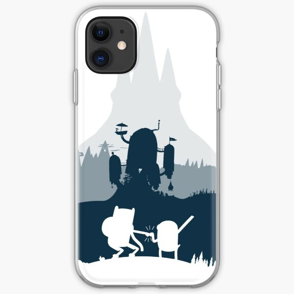 Ice King Silhouette iPhone Soft Case