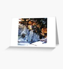 Freezing Greeting Card