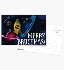 Merry Brucemas Card Postcards